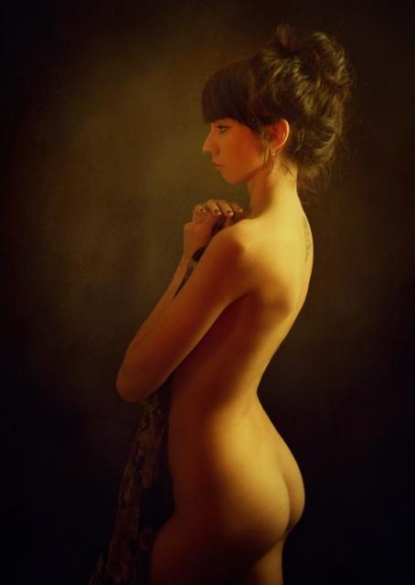 фото голый бок женщин